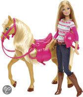 Barbie met Paard Tawny