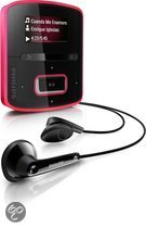Philips GoGear Raga MP3 speler - 2 GB - Roze