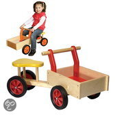 Allehand Bakfiets rood