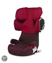 Cybex Solution X2-Fix - Autostoel - Strawberry - dark red