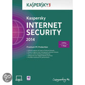 Kaspersky Internet Security 2014 DVD - Benelux / 3 PC's