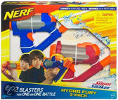 Nerf Super Soaker Soaker Wars Hydro Fury 2-Pack - Waterpistool
