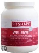 Fitshape Wei-Eiwit - Vanille - Voedingssupplement