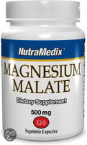 NutraMedix Magnesium Malate 500mg - 120 Vegacapsules
