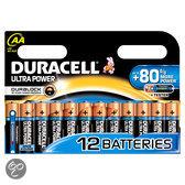 Duracell Ultra Power AA Alkaline Batterijen 12x Pak