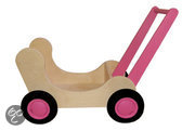 Poppenwagen Combi Roze