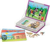 Janod Magneetboek Paard & Rijders