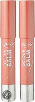 Etos Colour Balm 002 - Oranje - 2 stuks - Lippenstift