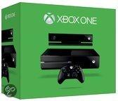 Microsoft Xbox One 500GB Console + 1 Wireless Controller + Kinect Sensor 2.0 - UK Import - Zwart Xbox One bundel