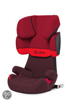 Cybex Solution X-Fix - Autostoel - Rumba Red - dark red