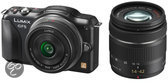 Panasonic Lumix DMC-GF5 + 14-42mm + 14mm - Zwart
