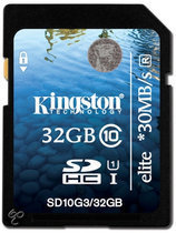 32GB SDHC Class 10 UHS-I Elite Flash Card
