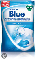 Vicks Throat Drops Blue Suikerhoudend 72g
