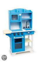 Base Toys Houten Kinderkeuken - Blauw