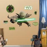 Yoda muursticker / Yoda poster / STAR WARS muursticker