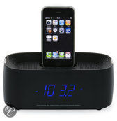 Denver IFM-15 - Docking station met wekkerradio voor iPod en iPhone - Grijs