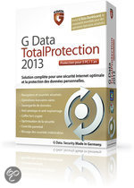 G Data TotalProtection 2013 - 3 Licenties  NL