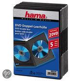 Hama 04751294 DVD Dubbel-box - 5 stuks