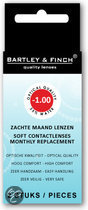 Bartley & Finch - 2 st - Maandlenzen -1.00