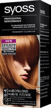 SYOSS Color baseline 8-4 Cream Amberblond - Haarkleuring