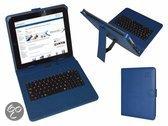 i12Cover Qwerty Keyboard Case voor Iconbit Nettab Space 3g, Blauw