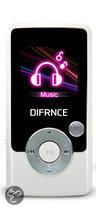 Difrnce MP1570 - MP4 speler - 4 GB - Wit