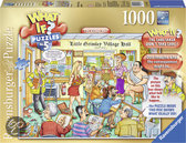 Ravensburger What if? Nummer 5 'The Village Hall' - Legpuzzel - 1000 Stukjes