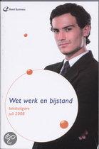 Tekstuitgave Wet Werk en Bijstand / 2008 Juli / druk 1