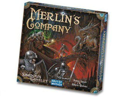 Shadows over Camelot - Merlin's Company - Bordspel