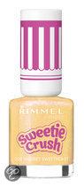 Rimmel London Sweetie Crush Special Effect Nail Colour  - 008 Sherbet Sweetheart - Geel - Nagellak