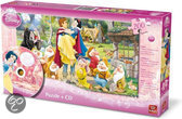 Disney 200 Puzzle + CD Cinderella