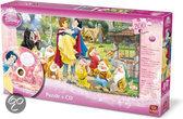 Disney 200 Puzzle + CD Sneeuwwitje