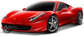 Ferrari 458  Race & Play scale 1:43 (red)