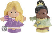Fisher-Price Little People Rapunzel en Tiana