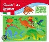 Tekensjablonen dinosaurussen - Knutselset Kleuren