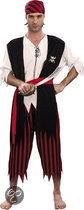 Luxe Piraat Jack - Kostuum - Maat M/L - Zwart
