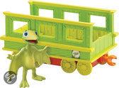 Dinosaurus Trein - Tiny met Trein Wagon