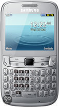 Samsung Chat 357 - Zilver - Hi prepaid telefoon
