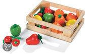 Kistje met 12 stuks fruit Chic