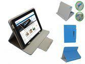 Qware Pro 2 7 Inch Diamond Class Cover, Luxe Multistand Hoes, Blauw, merk i12Cover