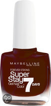 Maybelline SuperStay/Forever Strong - 287 Midnight Red - Rood - Nagellak