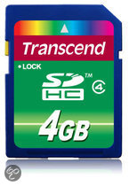 Transcend Basic SD kaart 4 GB