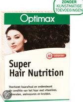 Optimax Super Hair Nutrition Tabletten - 60 st
