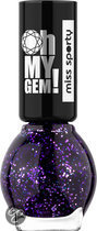 Miss sporty Oh My Gem! - 003 - Paars - Nagellak