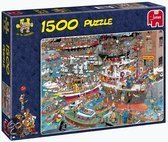 Jan van Haasteren De Haven - Puzzel - 1500 stukjes