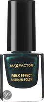 Max Factor Max Effect - Glam Green - Groen - Mini Nail Polish