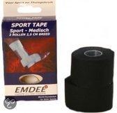 Emdee Duo - Zwart - 914 x 3.8 - 2 stuks - Sporttape