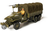Forces of Valor:  GMC 2.5 ton Opened Cab. Cargo Truck, schaal 1:72
