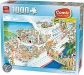 Comic Puzzel Cruise