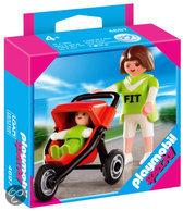 Playmobil Moeder Met Buggy - 4697